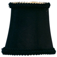 Livex S232 Chandelier Shade Black Shade
