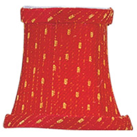 Livex S240 Chandelier Shade Red/Gold Shade photo thumbnail