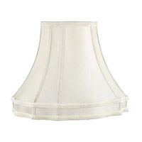 Silk Lamp Shade Beige Fancy Oval Shantung Silk Shade Shade