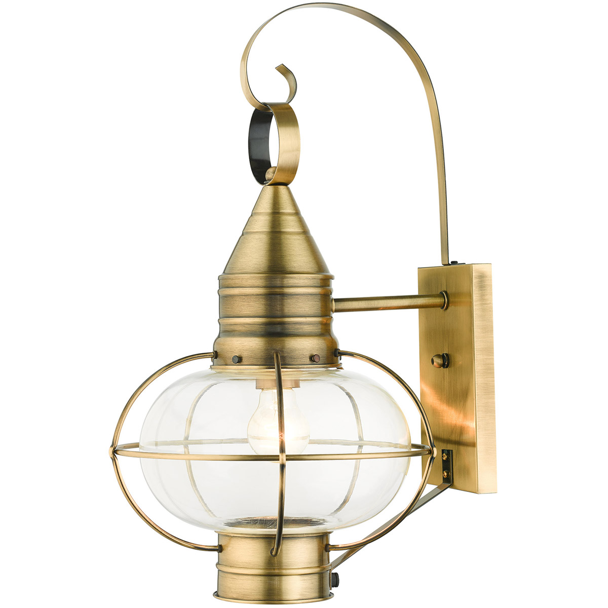 Livex Lighting 26904-01 Newburyport Outdoor Wall Light ...