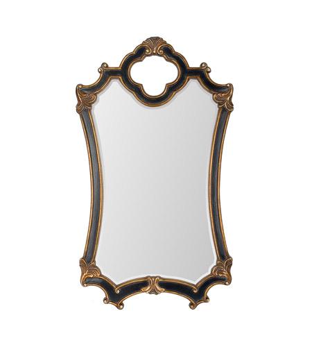 mariana signature 44 x 25 inch black and gold wall mirror home decor
