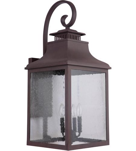Mariana 313177 Drake 4 Light 31 Inch Medium Bronze Outdoor Wall Lantern Extra Large