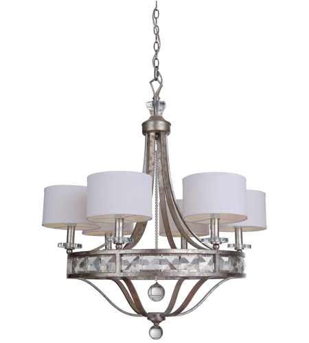 Mariana 590655 Hadessah 6 Light 26 inch Soft Gold Chandelier Ceiling Light photo  sc 1 st  Lighting New York & Mariana 590655 Hadessah 6 Light 26 inch Soft Gold Chandelier Ceiling ...