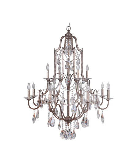 Mariana 980088 Adorned 12 Light 37 inch Vintage Ch&agne Chandelier Ceiling Light photo  sc 1 st  Lighting New York & Mariana Adorned 12 Light Chandelier in Vintage Champagne 980088