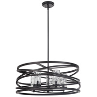 Mariana 100583 Finley 5 Light 24 inch Bronze Pendant Ceiling Light