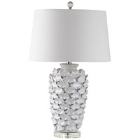 Mariana Blanco 1 Light Table Lamp in White Ceramic 130028