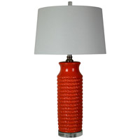 Camden 32 inch 150 watt Red Table Lamp Portable Light
