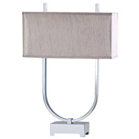 Mariana Hairpin 1 Light Table Lamp in Nickel 140007