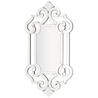 Queens Castle 41 X 22 inch Wall Mirror Home Decor