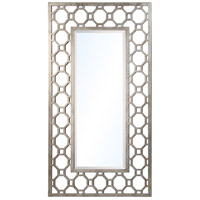 Tabitha 58 X 33 inch Silver Leaf Floor Mirror Home Decor