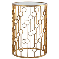 Mariana Signature Table in Gold Leaf 152001