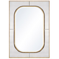 Savannah 38 X 28 inch Gold Mirror Home Decor