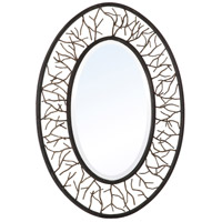 Dillan 38 X 27 inch Bronze/Branch Mirror Home Decor