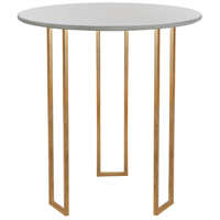Vixen 28 X 28 inch Gold Leaf Accent Table Home Decor