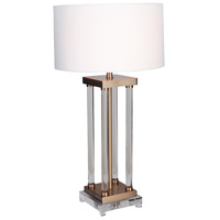 Iris 34 inch 100 watt Table Lamp Portable Light