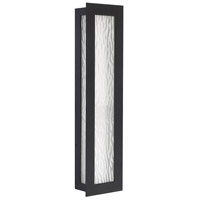 Seneca LED 28 inch Black Outdoor Wall Lantern, Large