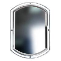 Mariana Pinball Mirror in Satin Nickel 190016