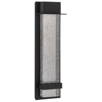 Alpine LED 22 inch Black Outdoor Wall Lamp, Large