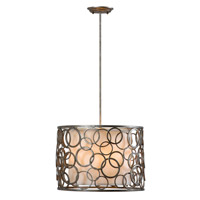 Mariana Stardust 3 Light Pendant in Satin Champange 192152