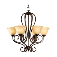 Mariana Aspen 6 Light Chandelier in Oil Rubbed Bronze 200690