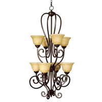 Mariana Aspen 8 Light Chandelier in Oil Rubbed Bronze 200890