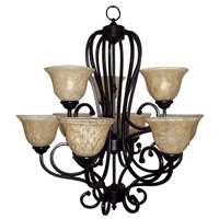 Mariana Aspen 9 Light Chandelier in Oil Rubbed Bronze 200990