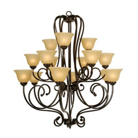 Mariana Aspen 15 Light Chandelier in Oil Rubbed Bronze 201590