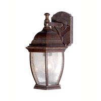 Signature 1 Light 8 inch Heritage Bronze Outdoor Wall Lantern
