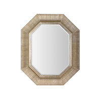Mariana Signature Mirror in Distressed Silver 210103