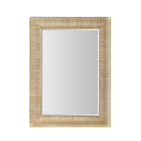 Golden 37 X 27 inch Brushed Gold Wall Mirror