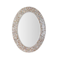Mariana Mother of Pearl Mirror in Mother of Pearl 210124