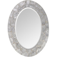 Mariana 210128 Signature 30 X 22 inch Oyster Wall Mirror Home Decor