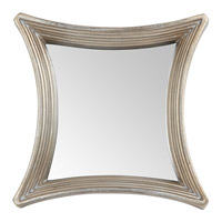 Mariana Asteroid Mirror in Brushed Silver 210132