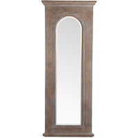 Signature 54 X 22 inch Washed Wood Mirror Home Decor