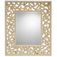Mariana 210140 Winston 44 X 37 inch White Washed Mirror Home Decor