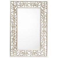 Twilight 36 X 25 inch Silver Leaf/Gold Mirror Home Decor