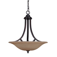 Mariana Loft 3 Light Pendant in Oil Rubbed Bronze 230090