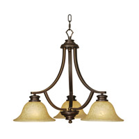 Mariana Loft 3 Light Chandelier in Oil Rubbed Bronze 230390