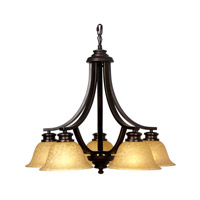 Mariana Loft 5 Light Chandelier in Oil Rubbed Bronze 230590