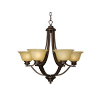 Mariana Loft 6 Light Chandelier in Oil Rubbed Bronze 230690