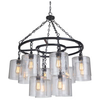 Mariana 261273 Olaf 12 Light 39 inch Bronze Chandelier Ceiling Light