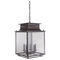 Allison 5 Light 15 inch Bronze Lantern Ceiling Light