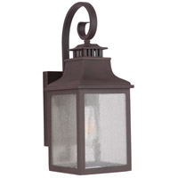 Mariana 307177 Drake 1 Light 18 inch Medium Bronze Outdoor Wall Lantern