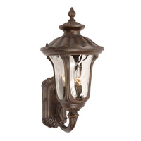 Signature 2 Light 10 inch Heritage Bronze Outdoor Wall Lantern