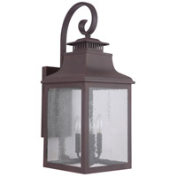 Mariana 311177 Drake 4 Light 28 inch Medium Bronze Outdoor Wall Lantern