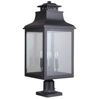 Mariana 311312 Drake 4 Light 25 inch Black Outdoor Post Mount Lantern