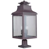 Mariana 311377 Drake 4 Light 25 inch Medium Bronze Outdoor Post Mount Lantern