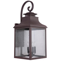 Mariana 313177 Drake 4 Light 31 inch Medium Bronze Outdoor Wall Lantern Extra Large