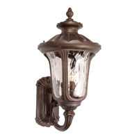 Signature 4 Light 17 inch Heritage Bronze Outdoor Wall Lantern