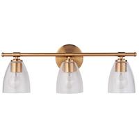 Mariana 320324 Solebay 3 Light 23 inch Brass Bath Vanity Wall Light